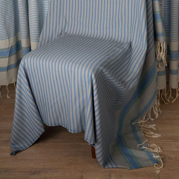 jet de fauteuil carr en coton fouta fond gris perle. Black Bedroom Furniture Sets. Home Design Ideas