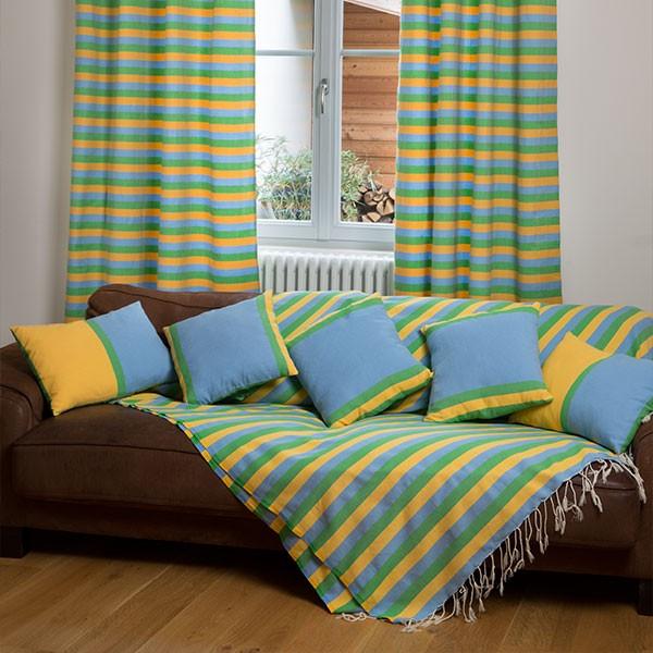 jet de fauteuil format carr 2x2m en coton fouta d2. Black Bedroom Furniture Sets. Home Design Ideas