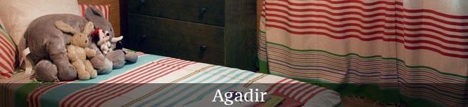 Décoration chambre d'enfant avec l'univers Agadir A5